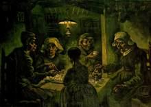 В. ван Гог. Едоки  картофеля
