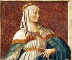 Женщины царицы на картинах художников
